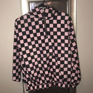 Black & pink forever 21 windbreaker